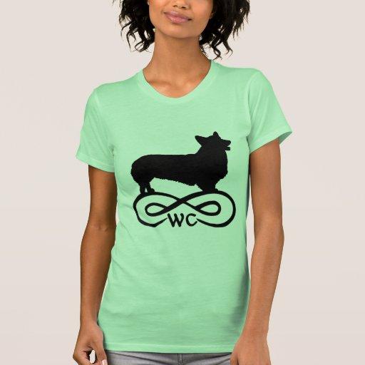 Corgi Galés del infinito Camiseta
