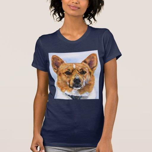 Corgi Galés del Pembroke Camisetas