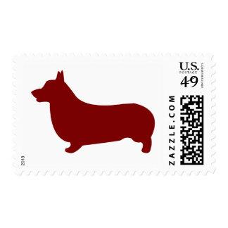 Corgi Galés del Pembroke (rojo) Sellos