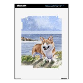 Corgi Galés iPad 3 Pegatinas Skins