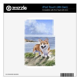 Corgi Galés iPod Touch 4G Calcomanía