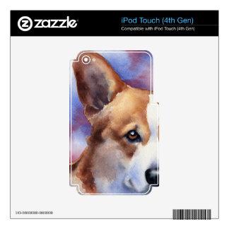 Corgi Galés Skins Para iPod Touch 4G