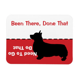 Corgi Go Potty Magnet - let dog out CUSTOMIZABLE