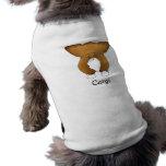 Corgi grande divertido del extremo ropa de perros