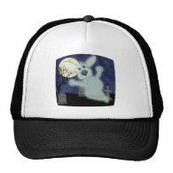 Corgi Graveyard Ghost Hat