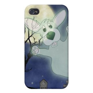 Corgi Graveyard Ghost iPhone 4 Case