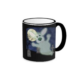 Corgi Graveyard Ghost Mug