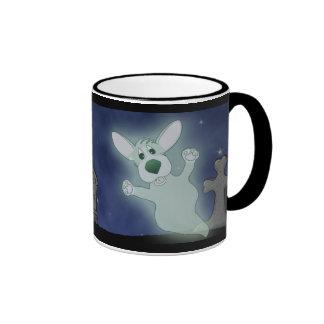 Corgi Graveyard Ghost Mug (Full Wraparound)