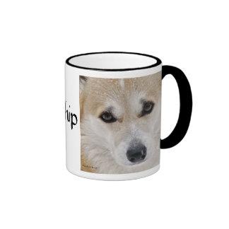 Corgi Her Ladyship Ringer Coffee Mug