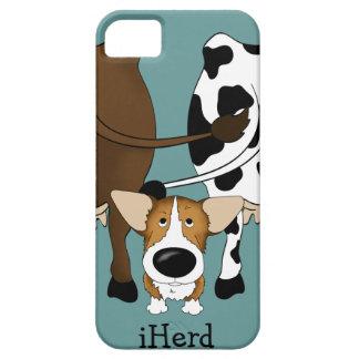 Corgi - iHerd iPhone 5 Fundas
