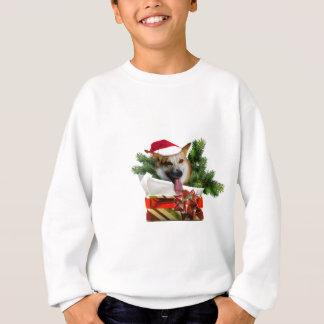 Corgi in a Christmas Box.psd Sweatshirt