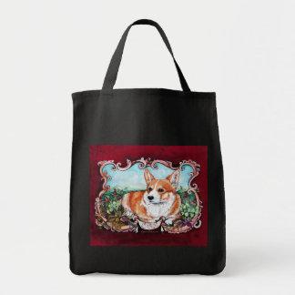 Corgi in the Garden! Tote Bag