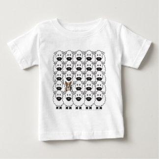 Corgi in the Sheep Baby T-Shirt