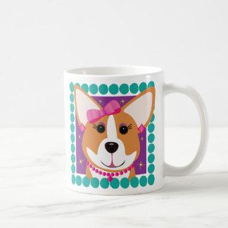 Corgi Lady Coffee Mug