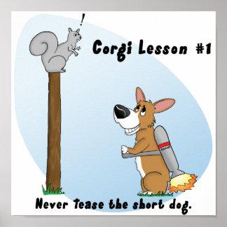 Corgi Lesson #1 Poster