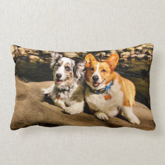 Corgi Lovers Throw Pillow