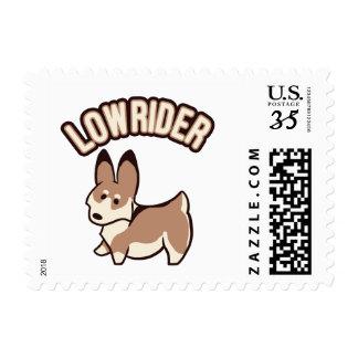 Corgi Lowrider Stamp