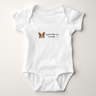 corgi mameluco de bebé