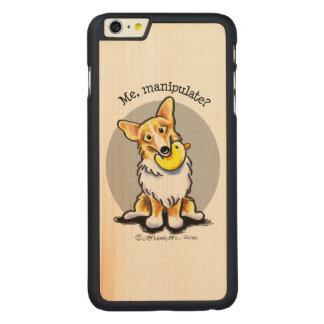 Corgi Me Manipulate Carved® Maple iPhone 6 Plus Slim Case