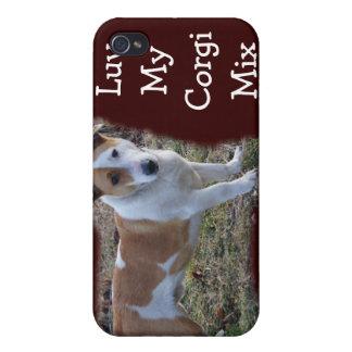 Corgi Mix iPhone-customize iPhone 4/4S Cases
