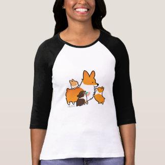 Corgi Mom and Puppies Shirt
