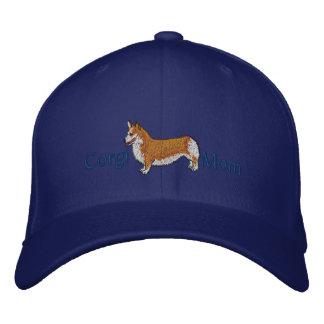 Corgi Mom Embroidered Hat