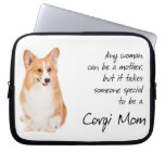 Corgi Mom Laptop Sleeve