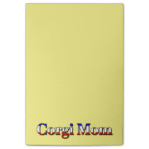 Corgi Mom Post-it Notes
