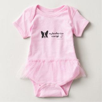 corgi-more breeds baby bodysuit