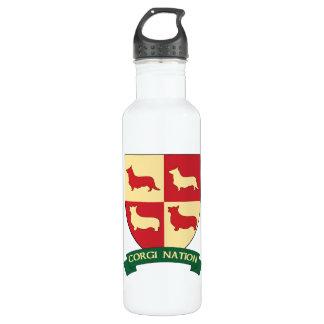 Corgi Nation Stainless Steel Water Bottle