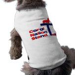 Corgi Nation Stand Tall Doggie Tee Shirt