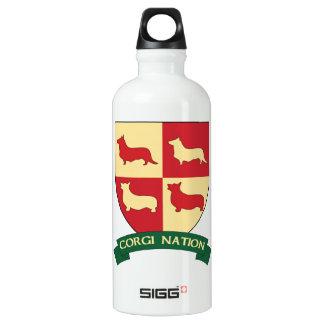 Corgi Nation Water Bottle