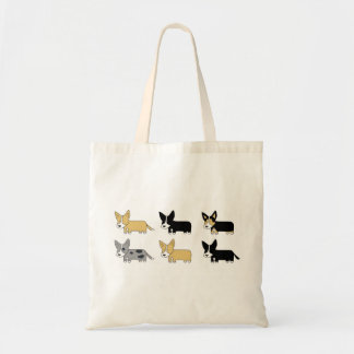 Corgi Pack Tote Bag