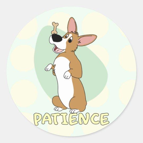 Corgi Patience Stickers