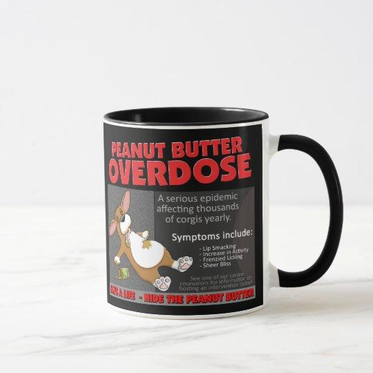 Corgi PB Overdose Mug