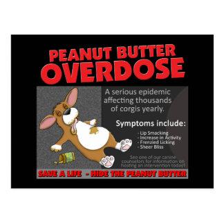Corgi PB Overdose Post Cards
