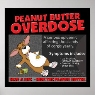 Corgi PB Overdose Posters