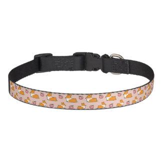 Corgi Peach Sploot Dog Collar