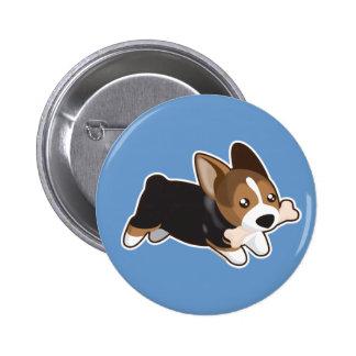 Corgi Pinback Button