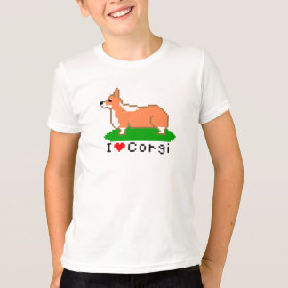 corgi (pixel art) T-Shirt