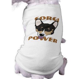 Corgi Power Dog Shirt