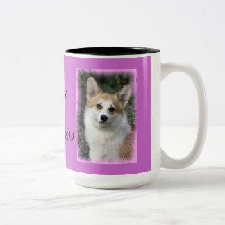 Corgi Princess Coffee Mug