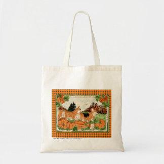 Corgi Pumpkin Patch Totebag Tote Bag