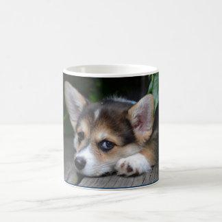 Corgi Puppy Classic White Coffee Mug