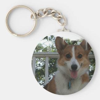 Corgi Puppy Dog Keychain