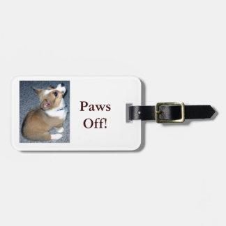 Corgi Puppy Gear Bag Tag