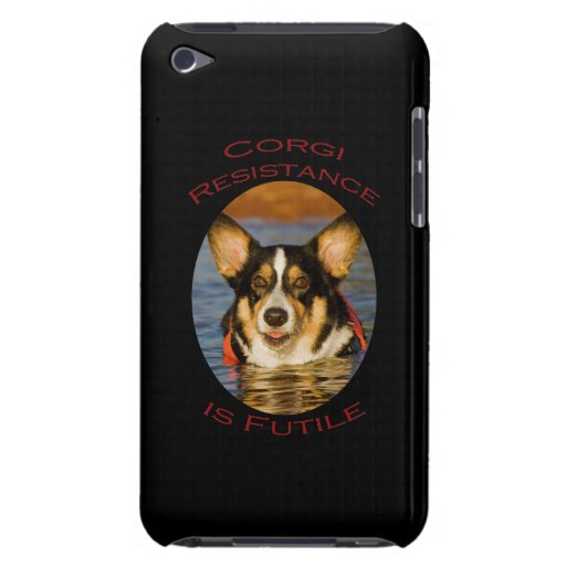 Corgi Resistance is Futile Barely There iPod Cases