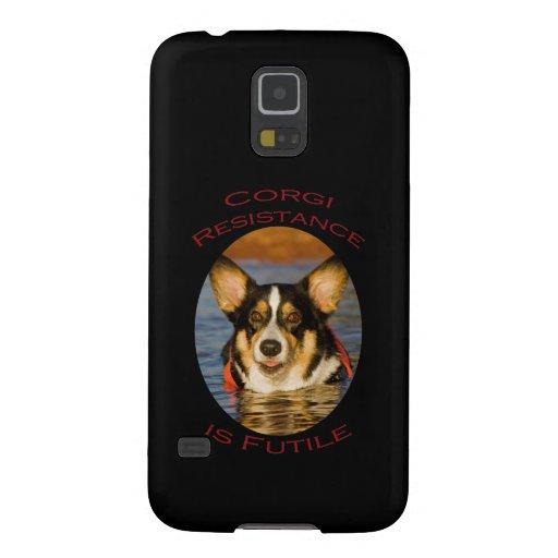 Corgi Resistance is Futile Galaxy Nexus Cases