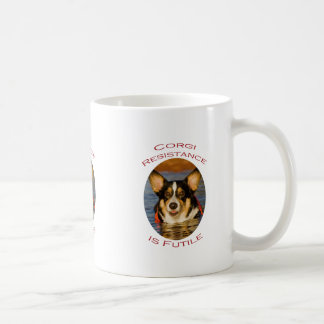 Corgi Resistance is Futile Coffee Mug