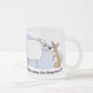 Corgi & Sheep Frosty Mug